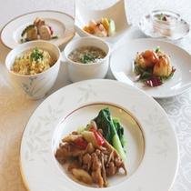 【中華コース(一例)】和洋中から選べるディナー