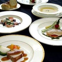 【ダイニング暖琉満菜】洋食ディナー 一例