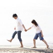 【波の上ビーチ】カップルでお散歩