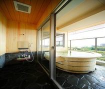 露天風呂付き特別室のお風呂2