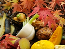秋野菜八寸