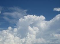 夏の雲もやんばるBlue!・・・・・・
