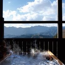 ◆(咲ら村 満月庵)露天風呂2