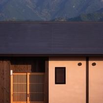 ◆(咲ら村 新月庵)玄関