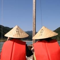 △三反帆で熊野川を下る体験ツアー