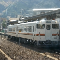 △JR熊野市駅の風景