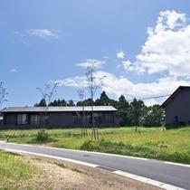 ◆(咲ら村 新月庵)客室外観2