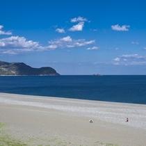 △七里御浜 雄大な風景