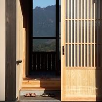◆(咲ら村 満月庵)玄関