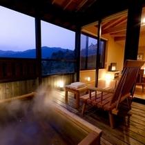 ◆(咲ら村 満月庵)露天風呂
