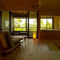 ◆(咲ら村 新月庵)室内2