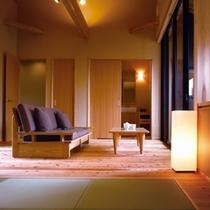 ◆(咲ら村 新月庵)室内