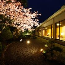 館内(桜)