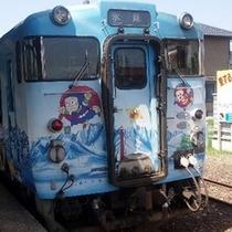 氷見線ハットリ君電車
