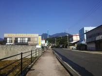 鶴屋前道路