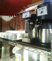 朝食ホットコーヒー セルフサービス