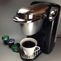 【客室備品】コーヒーメーカー