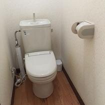 ・・・コテージCタイプ トイレ・・・