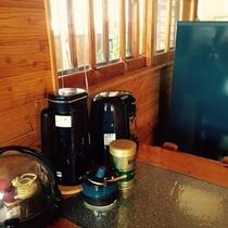 ・・・コテージAタイプ キッチン 一例(からまつ)・・・