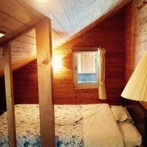 ・・・コテージAタイプ 2F寝室・・・