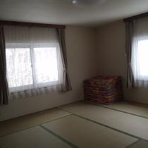・・・コテージCタイプ 寝室・・・