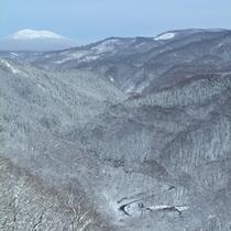 *【展望】山奥に佇む当館だからこそ見ることのできる風景。