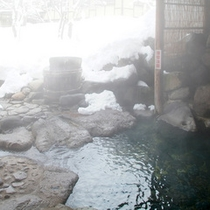 *【露天風呂】混浴の露天風呂ですが、レディースタイムもございます。