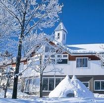 外観写真(冬)