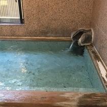 【温泉*源泉掛け流し】24時間入浴可!