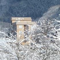 【外観】冬