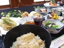 夕食例、おいしい山形!郷土料理堪能プラン【満足コース】(春)(大)