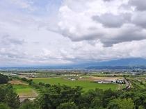 【施設周辺】富良野市街を一望することができます♪