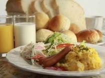 6. 御朝食の一例です