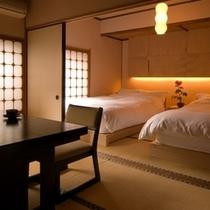 ベッド付和室