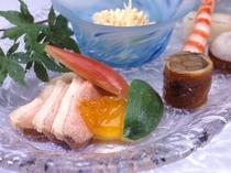 初夏の料理イメージ(前菜)
