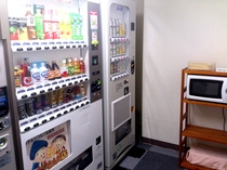 客室自販機コーナー
