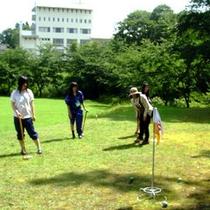 *【グラウンド・ゴルフ場】16ホール常設の本格的なグランウンド・ゴルフ場
