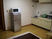 【姉妹施設】の和洋室2DKのキッチン