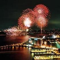 ★関門海峡花火大会★当ホテルから車で20分程