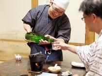 お時間あれば、日本酒談義!