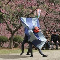 湯田川温泉神楽(開催は4月の梅まつり、7月の丑湯治)
