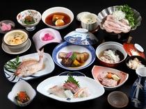 冬の夕食タラ料理