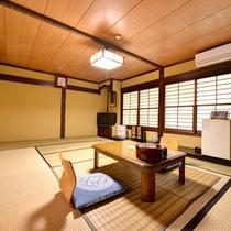 *【和室12畳客室一例】落ち着いた雰囲気のお部屋でごゆるりと♪