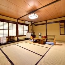 *【和室12畳客室一例】広々とした和室のお部屋。ご家族やグループにおススメです!