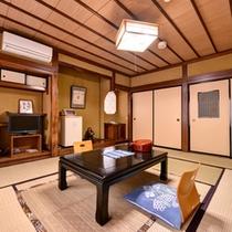 *【和室8畳客室一例】静かで趣のある和室にいると気持ちも安らぎます。