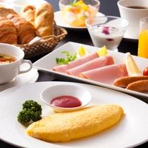【洋朝食】ヴィラ楽園のアメリカンブレックファスト