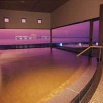 【天宮の雫】 洲本温泉をたっぷりとたたえた内湯