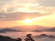 野迫川村の雲海
