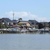 久美浜湾側からみた小天橋