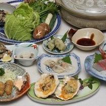 牡蠣料理例